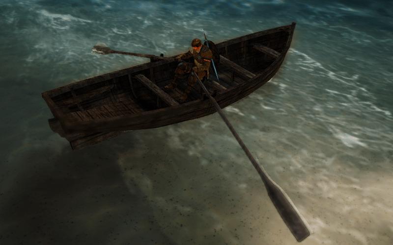 105.2рыбацкая лодка